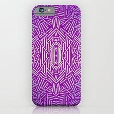 Radiate (Purple Blue) Slim Case iPhone 6