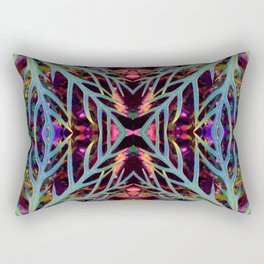 Found Colors Pattern Rectangular Pillow