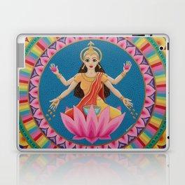 Goddess Lakshmi Mandala Laptop & iPad Skin