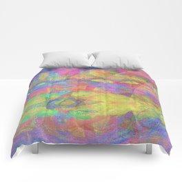Magma Abstract Comforters