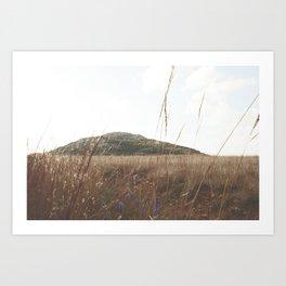 Mount Scott Whimsical Art Print