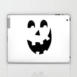 Crazy Jack O'Lantern Face Laptop & iPad Skin
