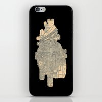 maps iPhone & iPod Skins featuring maps by yayanastasia