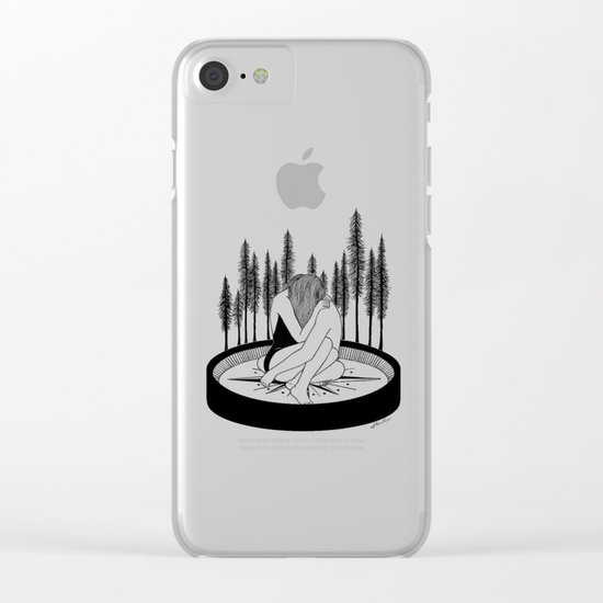 Lost Stars Clear iPhone Case