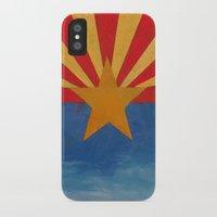 arizona iPhone & iPod Cases featuring Arizona by Michael Creese
