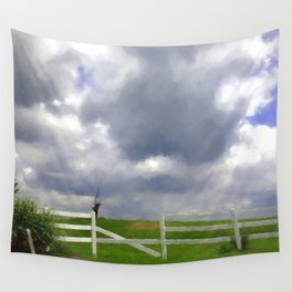 One Hot Summer Day Wall Tapestry