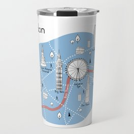 Mapping London - Original Travel Mug