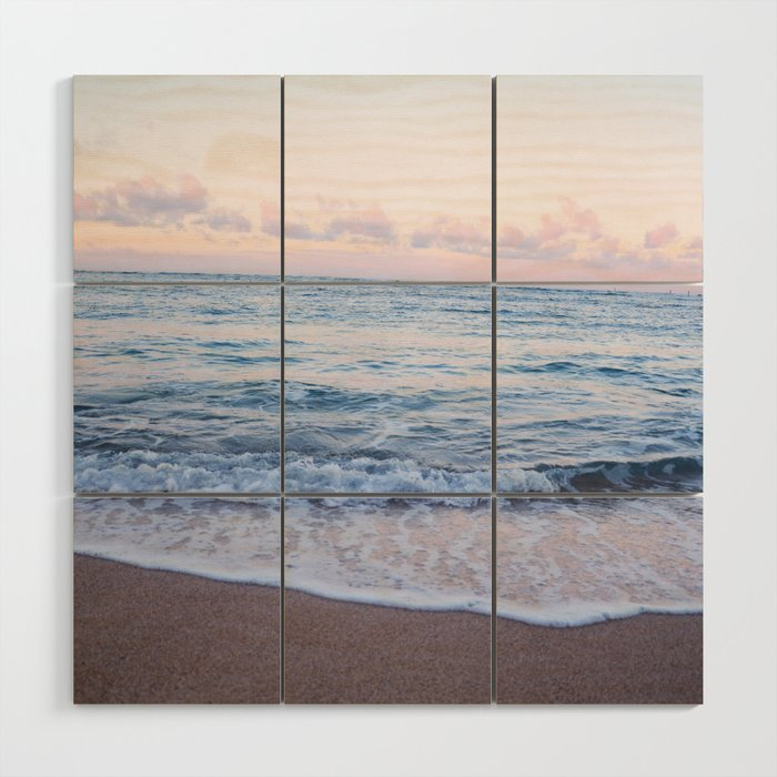 Ocean Morning Wood Wall Art