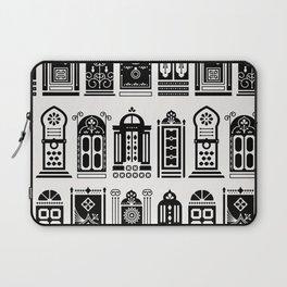 Moroccan Doors – Black Palette Laptop Sleeve