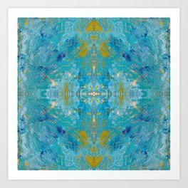 Saint Ives Blue Art Print