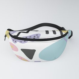 Muted Memphis Fanny Pack