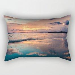 couché de Soleil Rectangular Pillow