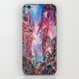 Meet In The Middle iPhone Skin