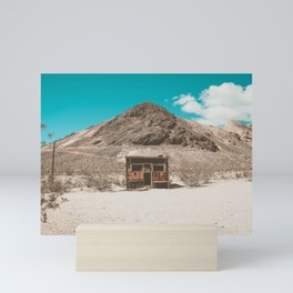 In The Middle of Nowhere | Rhyolite, Nevada Mini Art Print