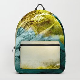Abstract Mountain Backpack