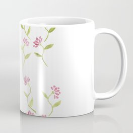Watercolour Rose Pattern Coffee Mug