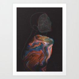 All Through the Night Art Print