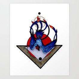 Sulfur Phoenix Art Print