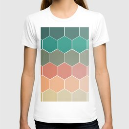 Colorful Hexagons T-shirt