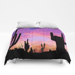 Signs seen in the Desert  Comforters