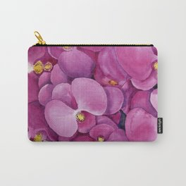 Watercolour Orchid Bloom Carry-All Pouch