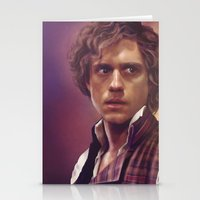 enjolras Stationery Cards featuring Enjolras by Julia Bland