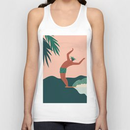 Go with a flow Unisex Tank Top