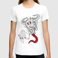 devil T-shirts featuring devil by Ichsjah