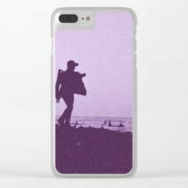 The seller Clear iPhone Case