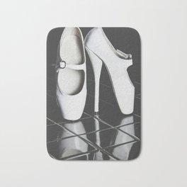 Ballet boots Bath Mat