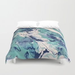 Polar Ice II Duvet Cover