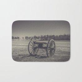 Artillery Placement Gettysburg National Military Park Pennsylvania Civil War Battlefield  Bath Mat