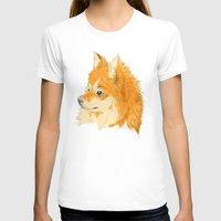 pomeranian T-shirts featuring Pomeranian by Det Tidkun