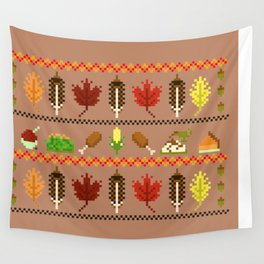 Ugly Thanksgiving Sweater Wall Tapestry