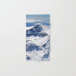 """Big mountains"". Aerial photography Hand & Bath Towel"