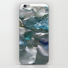 Ocean Hue Sea Glass Assortment iPhone Skin
