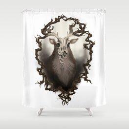 Corvus Cervus Lepus Series - Axis Shower Curtain