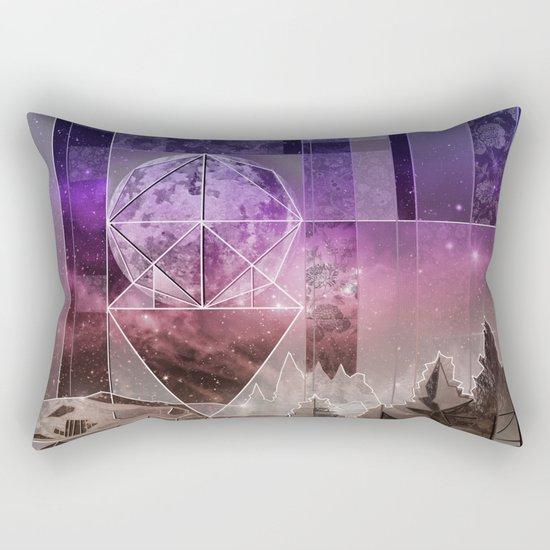 night forest 4 Rectangular Pillow