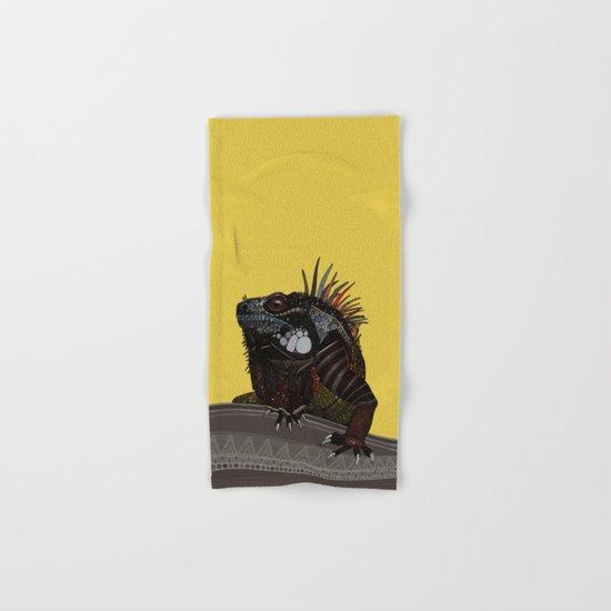 iguana gold Hand & Bath Towel