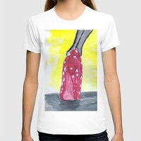 heels T-shirts featuring shoe heels by Isabel Sobregrau