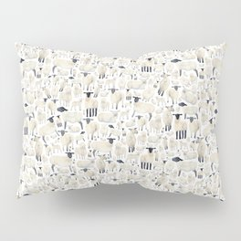 Watercolour Sheep Pillow Sham
