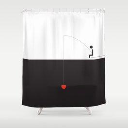 FLIRTING Shower Curtain