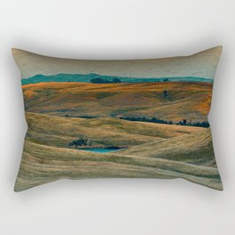 The Beauty of Nothing and Nowhere Rectangular Pillow