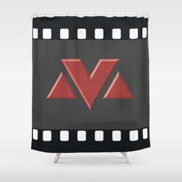 MV Logo Shower Curtain