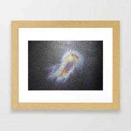 Oil Love Framed Art Print