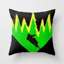 Rastafaride Throw Pillow