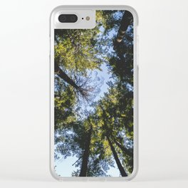 Vancouver Tree Tops Clear iPhone Case