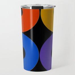 Colorful CDs Travel Mug