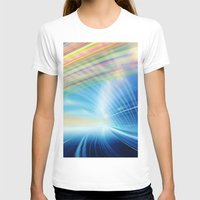 halo T-shirts featuring Colorful Halo by Tom Lee
