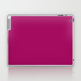 Jazzberry Jam - solid color Laptop & iPad Skin